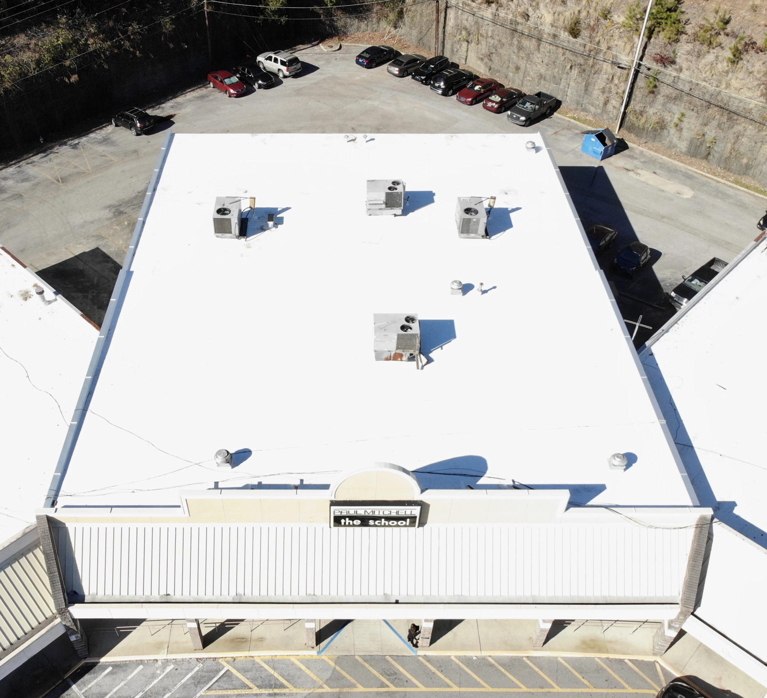 The Paul Mitchel School | Energy Star Certified TPO Installation