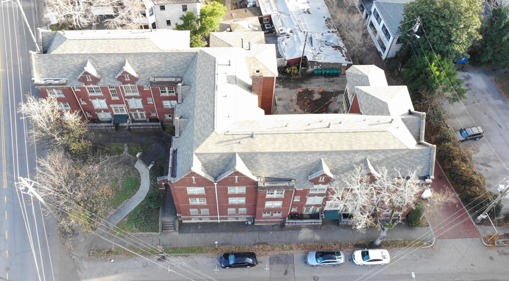 Cobb Lane Complex | Shingle Install